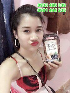 Sữa óc chó hạnh nhân đậu đen Hàn Quốc HSaHa Shop
