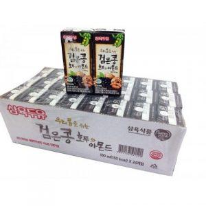 Sữa óc chó hạnh nhân đậu đen Hàn Quốc 24 hộp 190ml